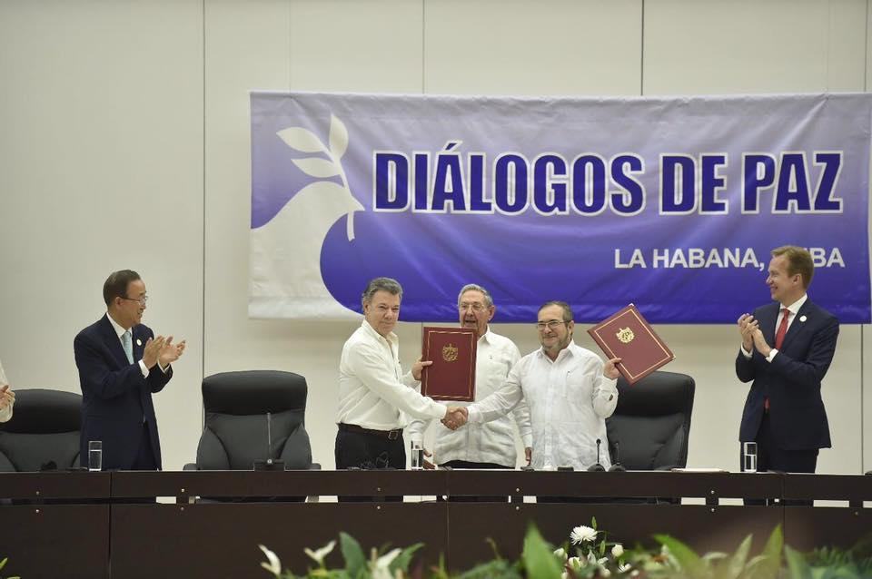Con la firma del Acuerdo con las FARC, el gobierno la sacó del estadio