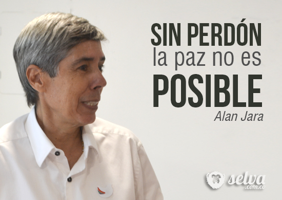 """""""Sin perdón la paz no es posible"""": Alan Jara"""