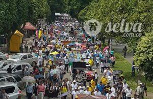 Gran movilización pacífica en el Caquetá