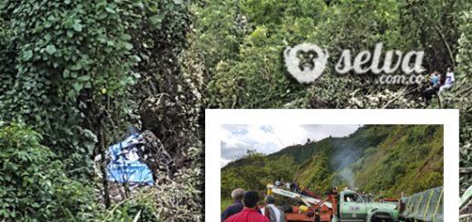 Exceso de velocidad y mal tiempo posibles causas del accidente del bus de Coomotor