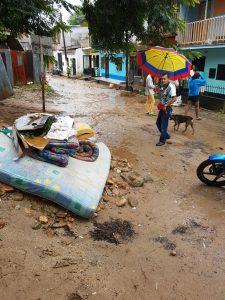 El Raicero, Vista Hermosa y San Judas afectados por inundaciones