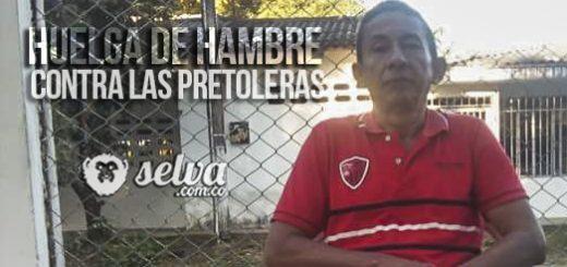 José Antonio Saldarriaga en huelga de hambre