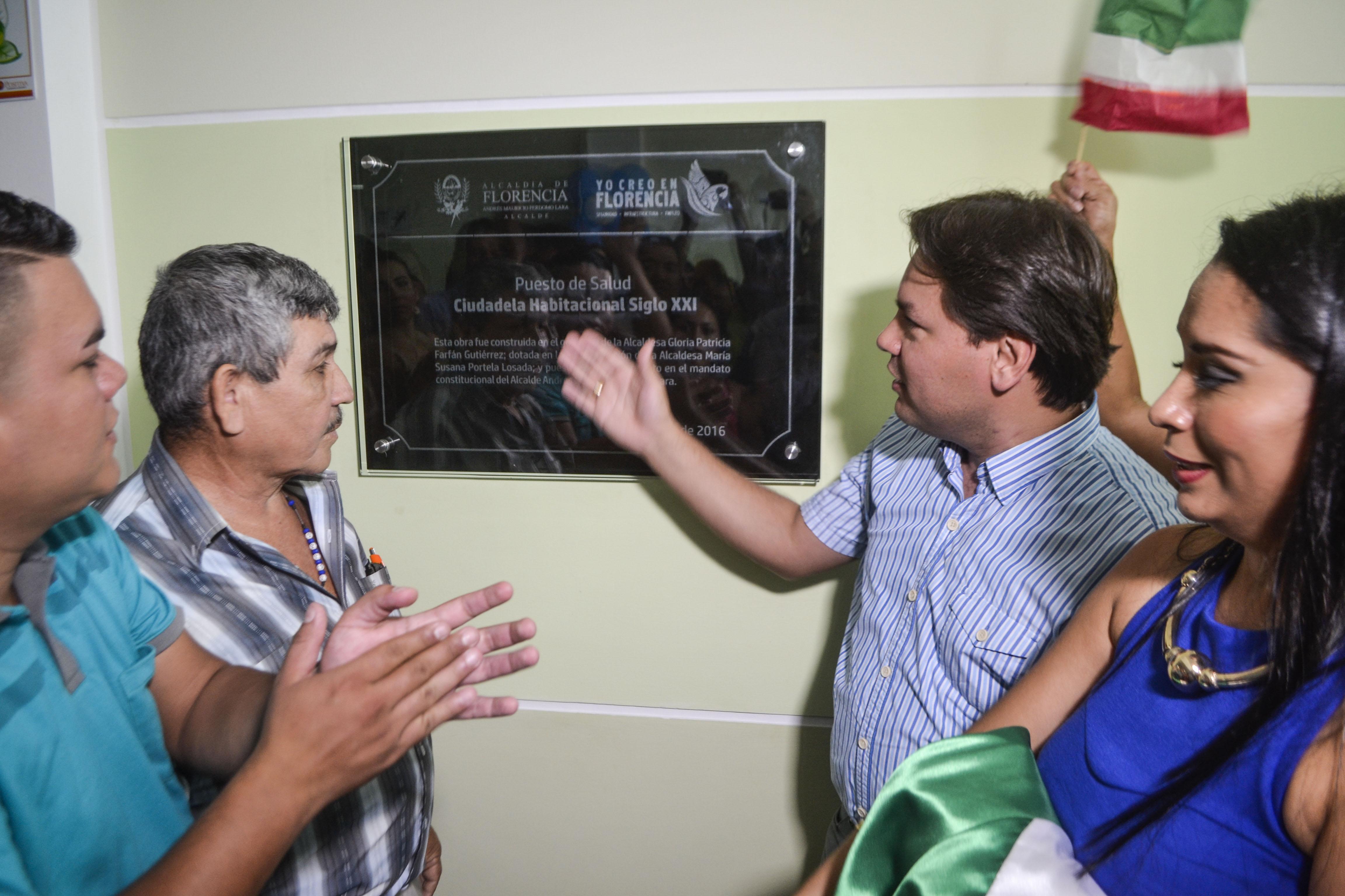 Inauguran Centro de salud en Florencia Caquetá