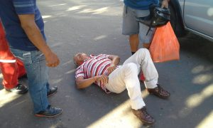 Accidente en Versalles