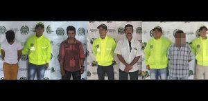 capturan a cinco presuntos abusadores de menores de edad en el Caquetá