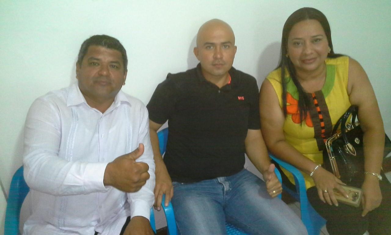 Diputados Reinaldo Castrillón, Arturo Mayorga y Angélica María Henao