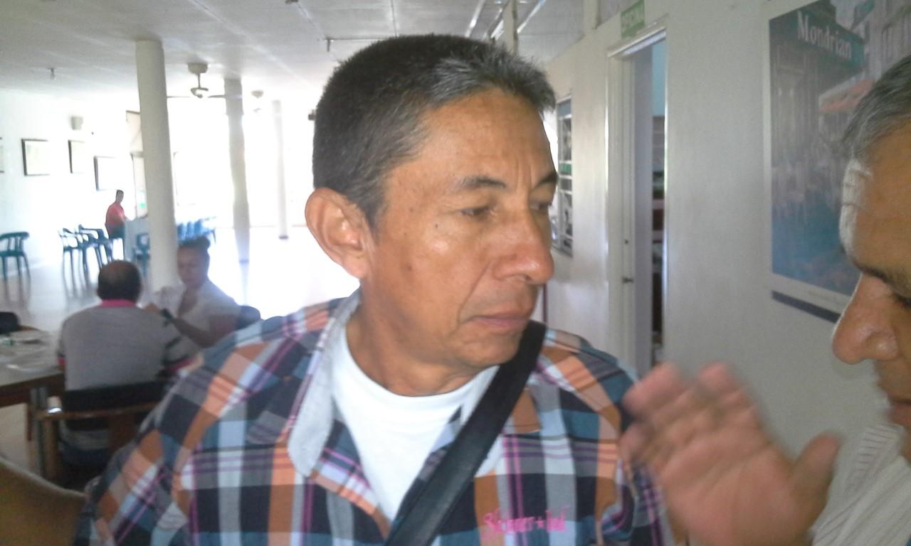 Líder campesino del Caquetá José Antonio Saldarriaga