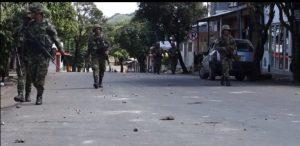Infiltrados en las protestas del Caquetá para culpar a los campesinos de vandalismo