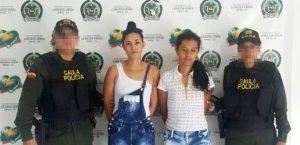 Capturadas extorsionistas por El Gaula de La Policía