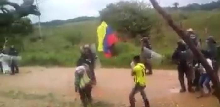 La resistencia de los campesinos del Caquetá contra las petroleras se trasladó a La Unión Peneya