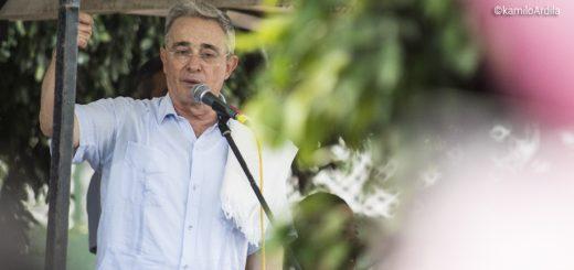 Senador Álvaro Uribe Vélez. Fotografía KamiloArdila