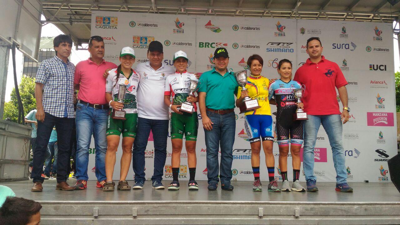 Espectacular resultó el final  de La Vuelta del Porvenir y El Tour Femenino