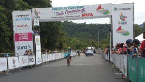 En La Vuelta del  Porvenir la montaña  fue el escenario de épicas batallas