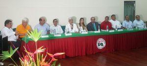 """""""Vengo a construir sobre lo construido"""", fue la frase del nuevo rector de la Universidad de La Amazonía al posesionarse"""