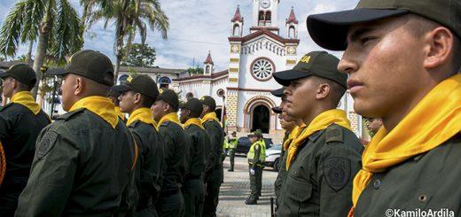 Policía Nacional Fotografía Kamilo Ardila