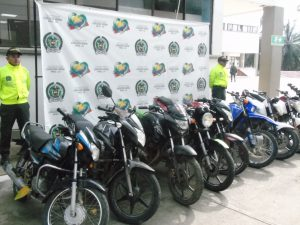 Recuperadas nueve motocicletas en municipios de El Caquetá