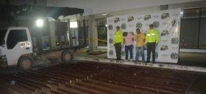 La policía incautó 235 kilos de coca en la vía Montañita La Unión Peneya