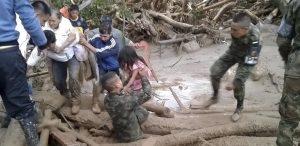 154 muertos, 200 desaparecidos y 17 barrios arrasados deja la avalancha de Mocoa