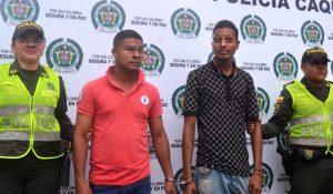 Capturados supuestos autores del homicidio de ayer