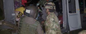 En acción novelesca el ejército rescata a una embarazada en las selvas de El Caquetá