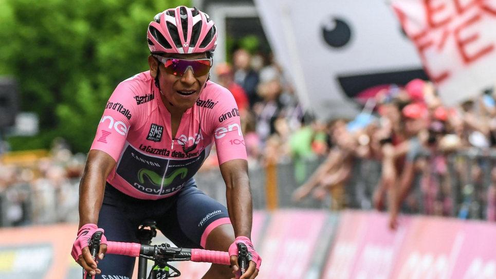 Final de infarto en el Giro de Italia, Quintana por una hazaña