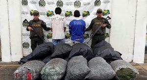 Capturados por minería ilegal  y capturados con carbón vegetal