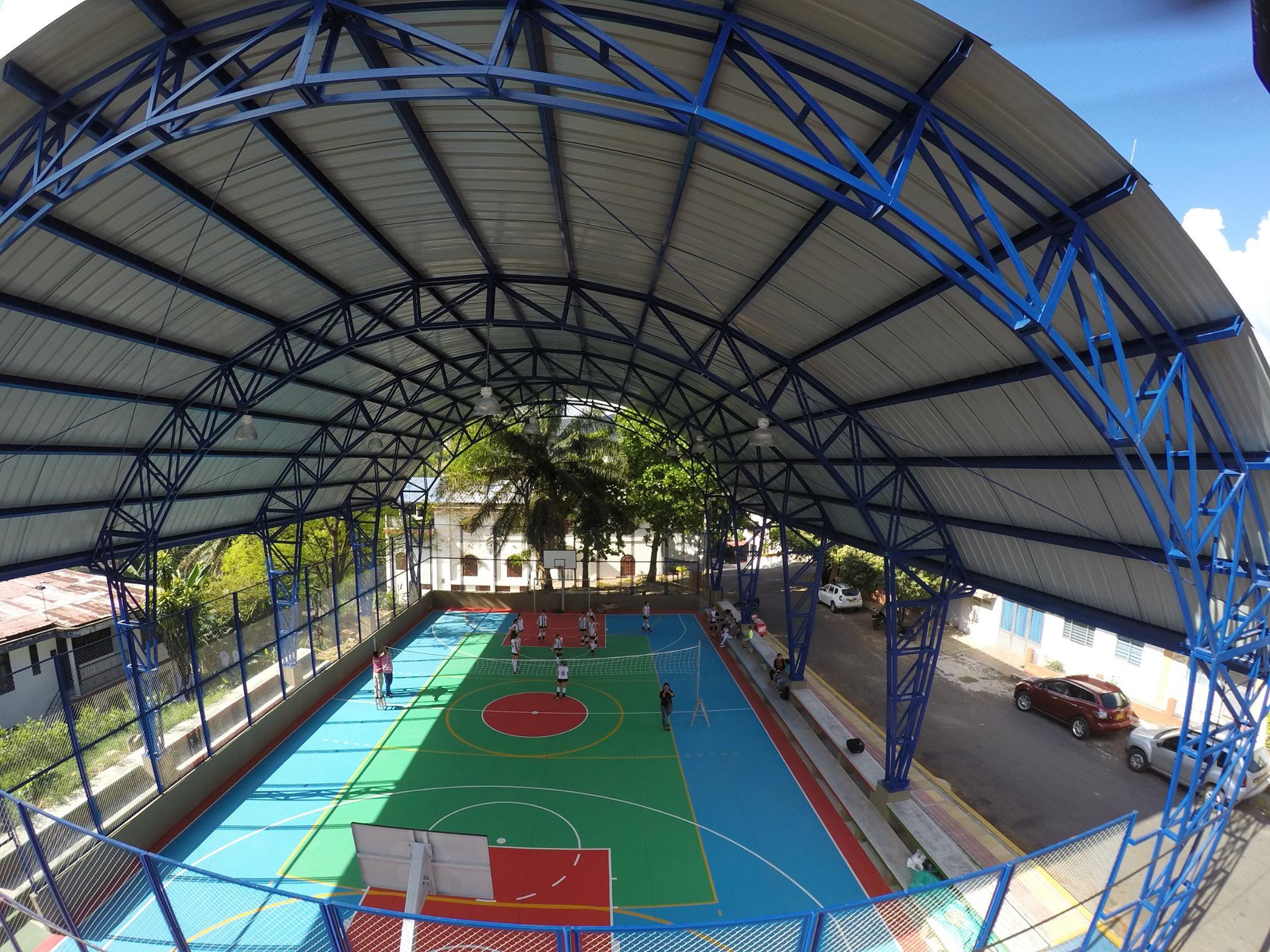 Mejoramiento del polideportivo barrio La Estrella, Florencia Caquetá