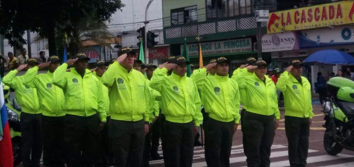 La policía lanzó el plan de seguridad navideño