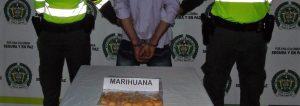 Marihuana en el estómago rumbo a cárcel de Garzón
