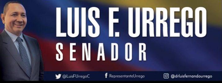 Luis Fernando Urrego Carvajal - Senador