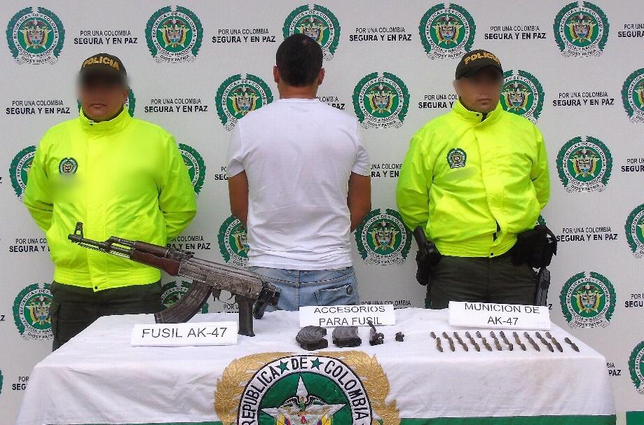Capturas con armas de fuego ilegales realiza la policía