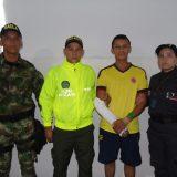 Capturado supuesto asesino de policías en San Vicente