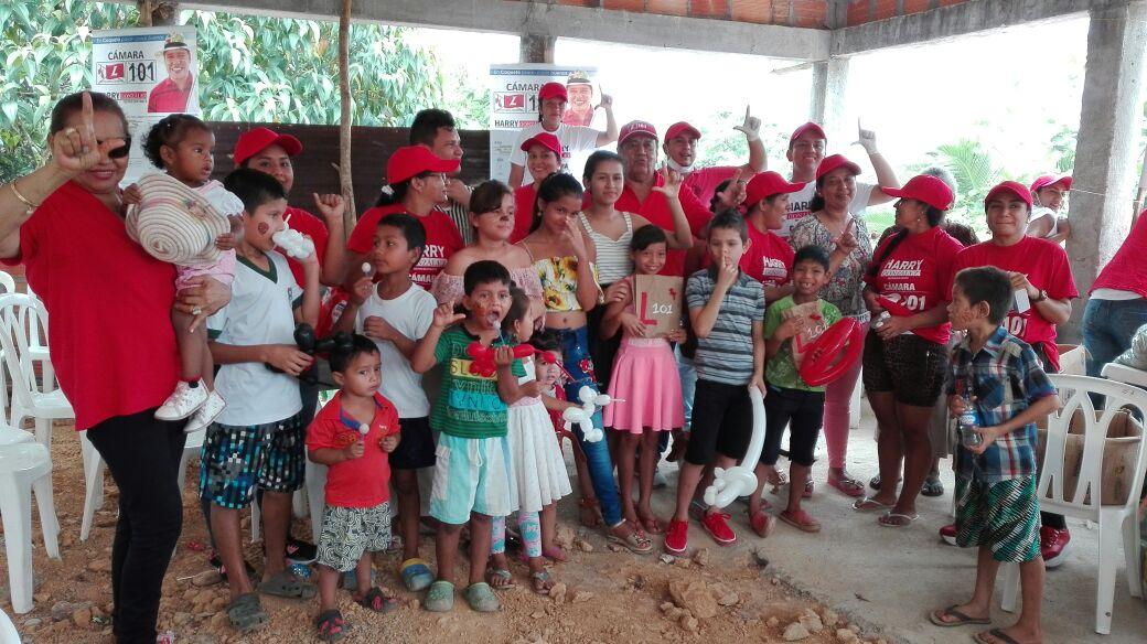 Éxito en jornada de salud de Harry González