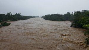 Por ola invernal se desbordan ríos al sur del Caquetá