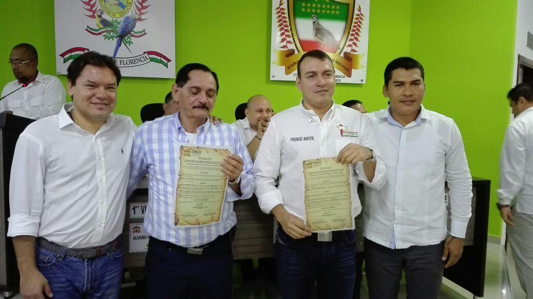 El concejo de Florencia reconoce el trabajo de los ciudadanos