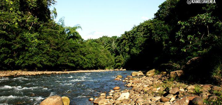 Río Hacha, Florencia, Caquetám Colombia - Fotografía Kamilo Ardila