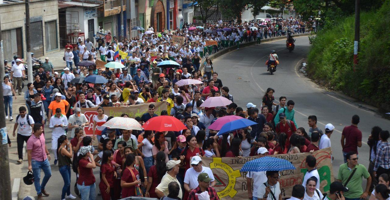 Administración de la Universidad de la Amazonía se une a protesta nacional