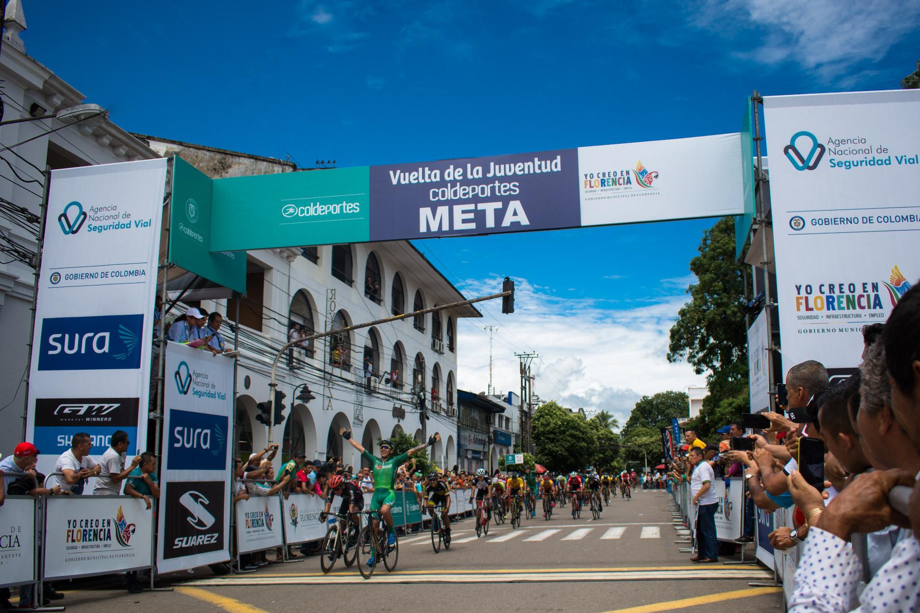 Etapa I Vuelta a la Juventud 2018 Fotografía Kamilo Ardila