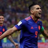 Radamel Falcao anotó su primer gol en una Copa del Mundo. (Getty Images)