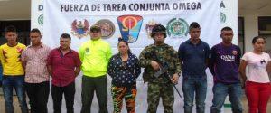 Contundente golpe al crimen organizado en el Caquetá