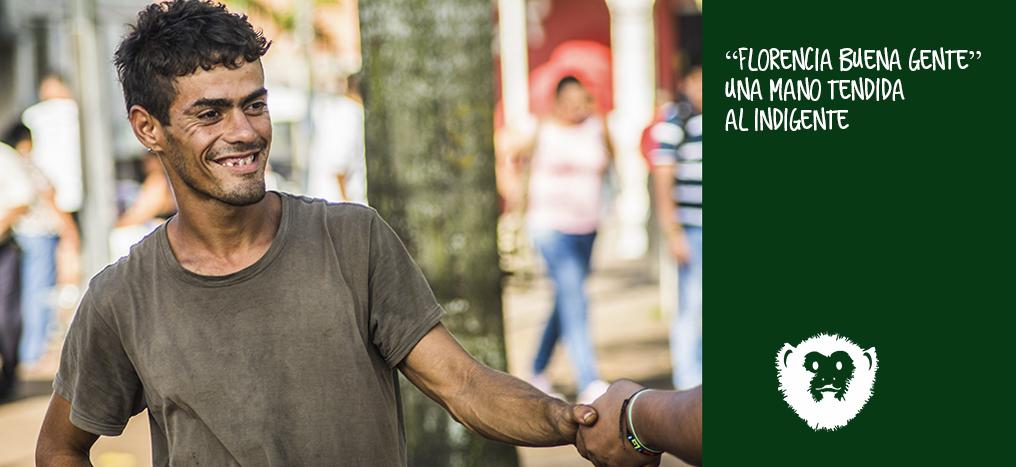 """""""Florencia Buena Gente"""" una mano tendida al indigente"""