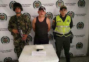 En los Aletones fue capturado un hombre con coca
