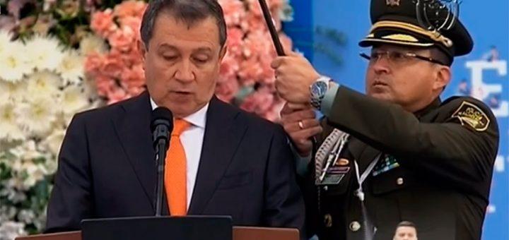El presidente del Congreso Ernesto Macias. Pantallazo de video