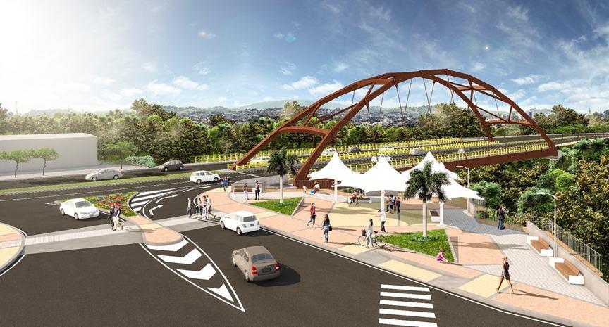 Puente nuevo sobre el río la perdiz Florencia Caquetá