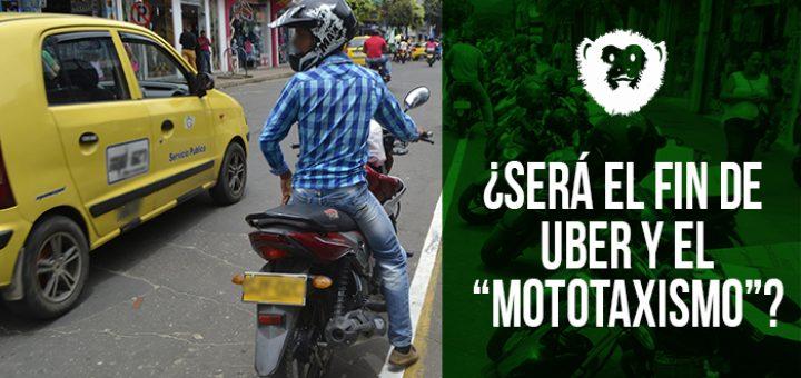 ¿Será el fin de UBER y el mototaxismo? Fotografía: Kamilo Ardila