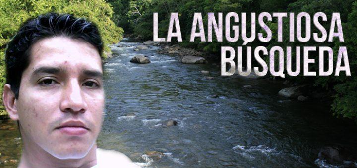 LA ANGUSTIOSA BÚSQUEDA DE JUAN PABLO