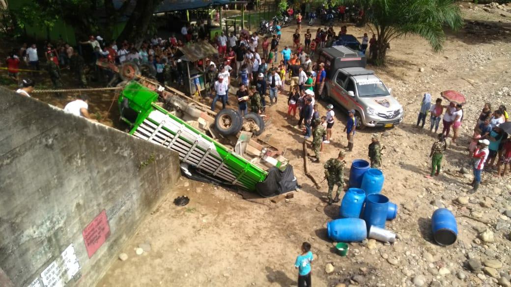 Fallece niño en accidente cerca a Yurayaco al sur del Caquetá