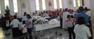 Tristeza y dolor en  Belén  en exequias de la Señora y su hijo accidentados
