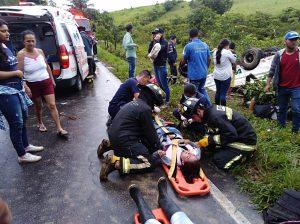 Estudiantes de sexto semestre de Agroecología involucrados en el accidente del bus de Uniamazonía