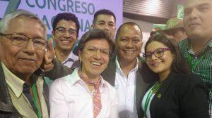 Respaldo nacional de Alianza Verde recibe Cicery